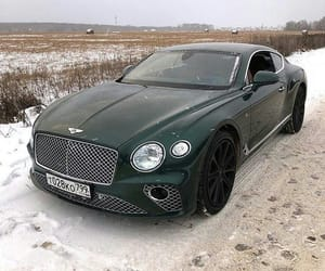 auto, Bentley, and black image