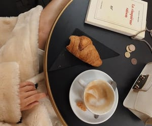 blogger, book, and coffee image