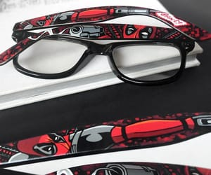 accessories, wade wilson, and comic book fan image