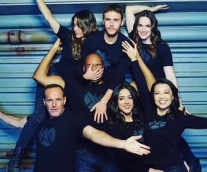 agents of shield and chloe bennet image