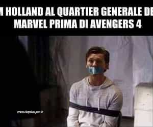 spoilers, tom holland, and avengers 4 image