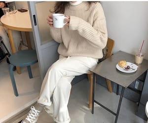 beige, fashion, and kfashion image