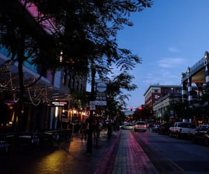 city, night, and place image