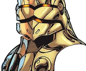 alien, cyborg, and marvel comics image