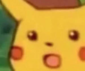 anime, meme, and pikachu image