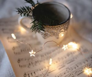 light, christmas, and music image