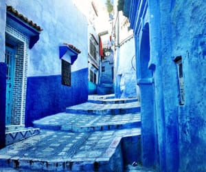 blue, city, and morocco image