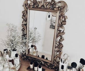 mirror, beauty, and cosmetics image