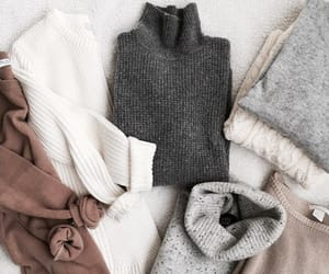 cozy, fashion, and sweater image