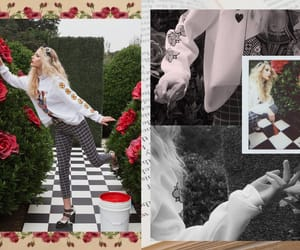 alice in wonderland, clothes, and wildfox image