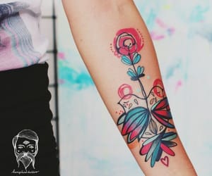 abstract, inspiration, and tattoo image