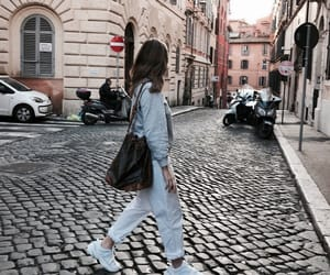 bag, europe, and outfit image