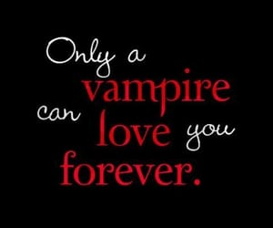 vampire, love, and forever image