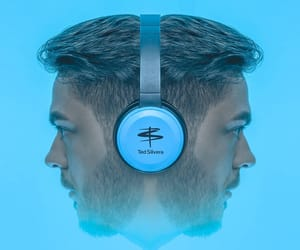 blue, head, and self-portrait image