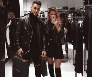 couple, fashion, and love image