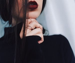 girl, black, and beauty image