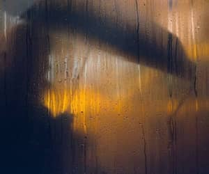 cars, city, and rain image