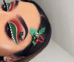 beauty, christmas, and makeup image
