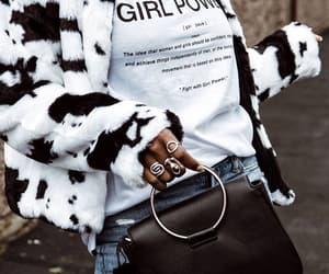 bag, fashion, and girl power image