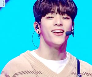 brown hair, gif, and 김우진 image