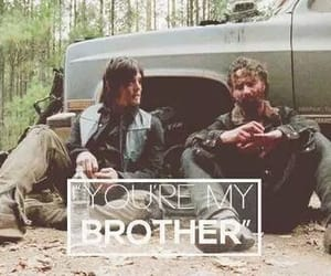 rick, thewalkingdead, and daryldixon image