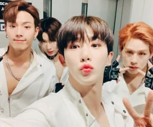 idol, wonho, and kpop image