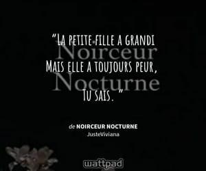francais, girl, and phrase image