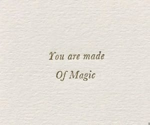 magic, quote, and you image
