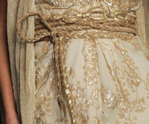 dress and gold image