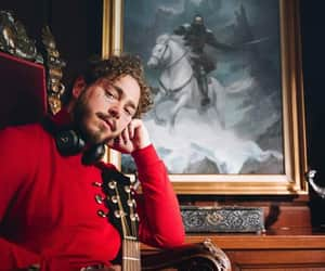 rapper, soundcloud, and post malone image