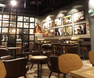 cafe, luxury, and cozy image