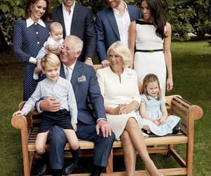 camilla, prince george, and prince louis image
