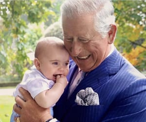 baby, prince charles, and royal family image