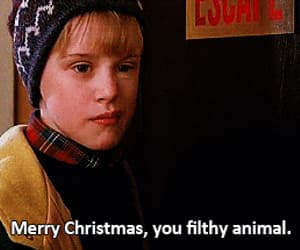 1990, Macaulay Culkin, and merry christmas image