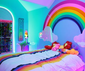 rainbow, colors, and aesthetic image