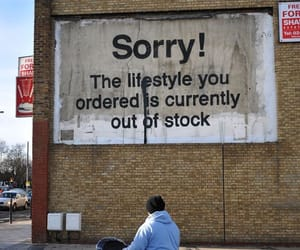 BANKSY, lifestyle, and quotes image