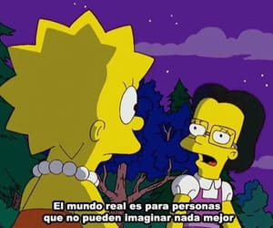frases, lisa, and simpsons image