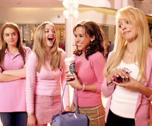 mean girls and pink image