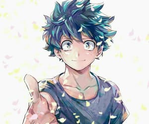 anime, boku no hero academia, and deku image