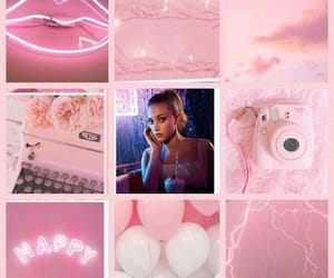 aesthetic, edit, and pink image