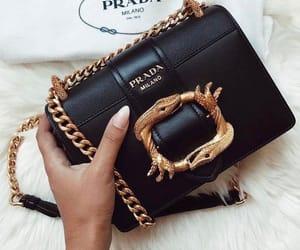 girl, moda, and Prada image