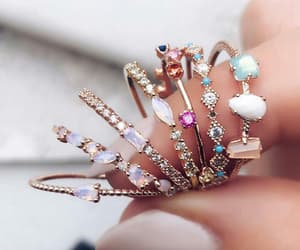 jewelry, rings, and jewels image