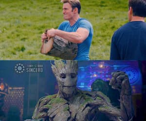 Avengers, Hot, and tree image