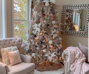 christmas, home, and christmas tree image