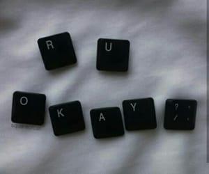 black, love, and okay image