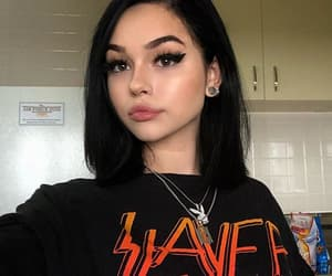 girl, maggie lindemann, and brunette image