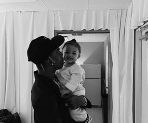 travis scott, stormi webster, and cute image