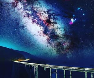 colorful, galaxy, and stars image