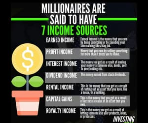 business, marketing, and millionaire image