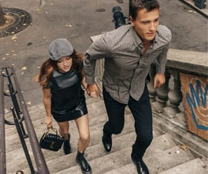 couple, french, and outfit image